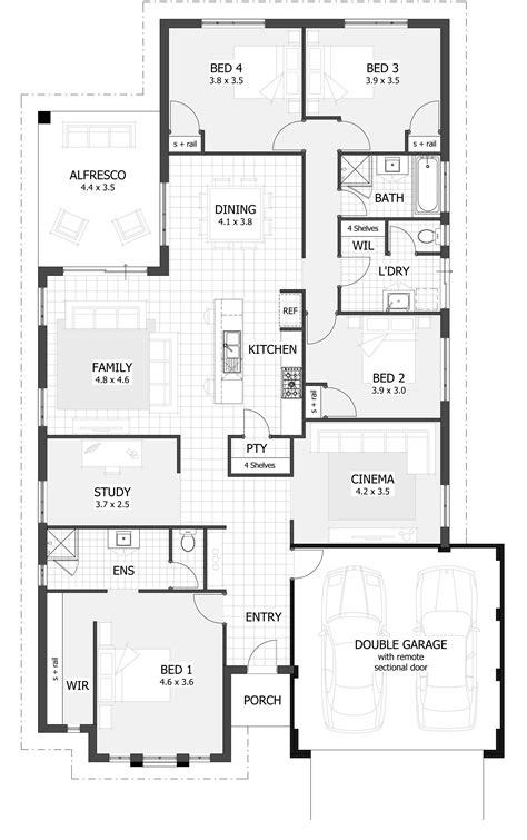 family home plan court floor plan contempo floorplans pinterest