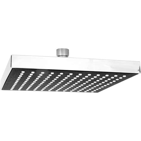 Square Shower Heads by Square Shower 200mm Toolstation