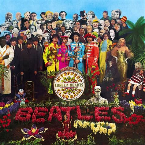 the beatles sgt peppers lonely hearts club band sgt pepper s lonely hearts club band album artwork the