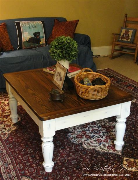 Chalk Painted Coffee Tables Farmhouse Coffee Table Makeover Farmhouse Coffee Tables Coffee Table Makeover And Sloan