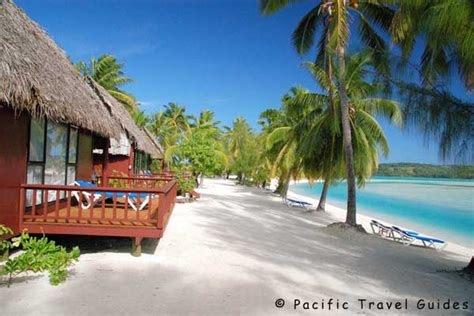 aitutaki lagoon resort aitutaki beautiful cook islands