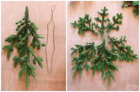 how to make a wreath from branches how to make a gorgeous decoration with tree branches