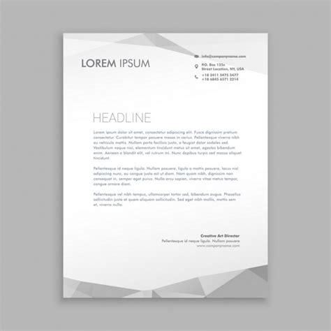 modern business letterhead template modern letterhead design www pixshark images
