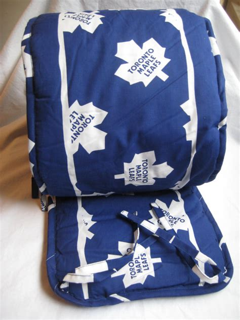 Hockey Crib Bedding Toronto Maple Leafs Bumper Pad Baby Crib Bedding Blue Official