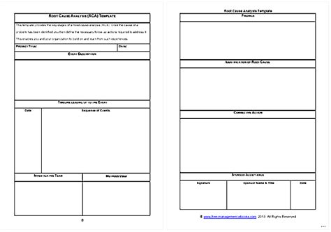 Root Cause Analysis Template Exquisite Gallery Give Try Studiootb Simple Root Cause Analysis Template