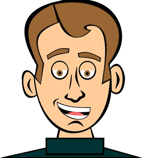 young man head clip art a perfect world clip art people