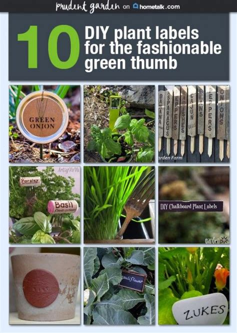 71 Best Garden Plant Tags Images On Pinterest Yard Ideas Vegetable Labels For Garden