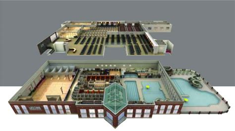 lifetime fitness floor plan building layout