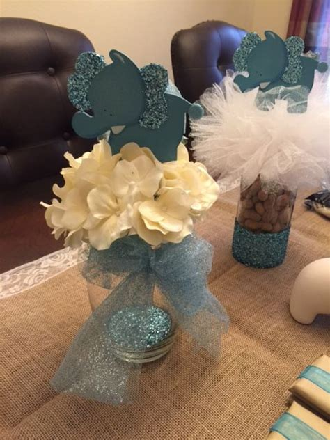 Baby Shower Centerpiece For Boy by Best 25 Elephant Centerpieces Ideas On