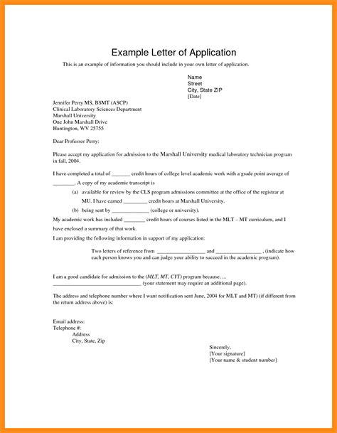 Write A Letter Applying For A 11 how to write an application letter for
