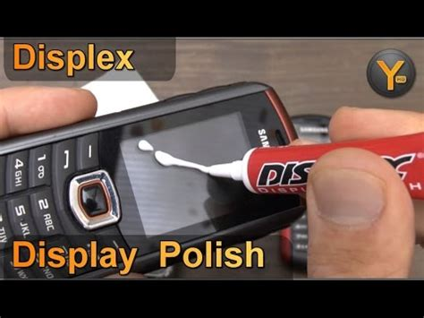 Kratzer Politur Smartphone by Remove Scratches With Displex Display Polish Infomerc