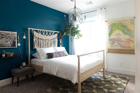 sherwin williams oceanside 2018 color of the year amy s guest room overhaul sherwin williams 2018 color of