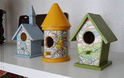 crafting projects for adults road map birdhouses crafts by amanda