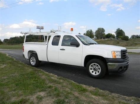 purchase used gmc chevy silverado 1500 ladder rack