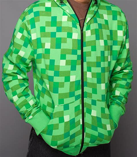 Jaket Hoodie Dropdead Sonic minecraft creeper hoodie the awesomer