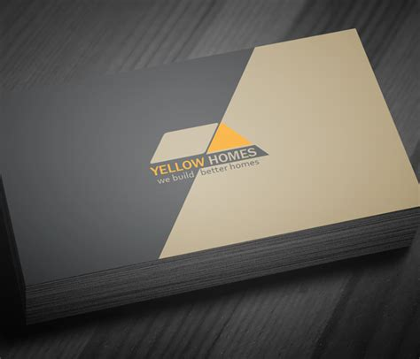 free real estate business card template psd freebies