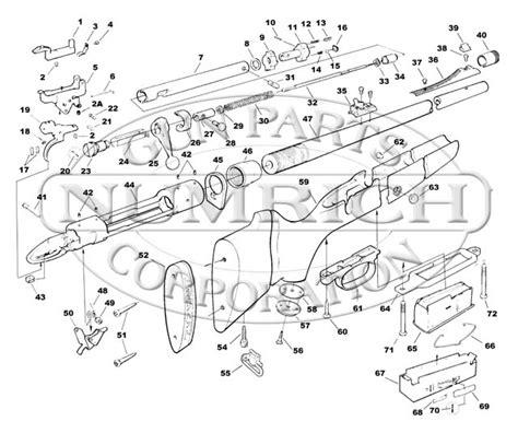 savage model 110 parts diagram 111 series j accessories numrich gun parts