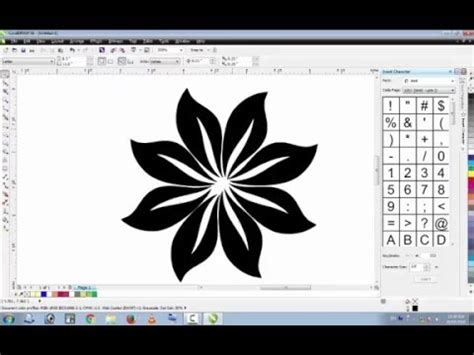 pattern wood corel draw download coreldraw tutorial how to make floral designs in