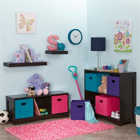 riverridge kids 6 cubby 3 shelf corner cabinet riverridge kids open bookcase 02 028 the home depot