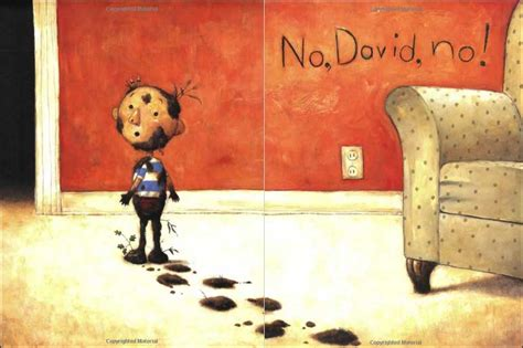 the book no pictures no david by david shannon