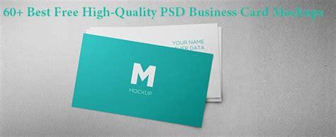 high quality psd business card mockups