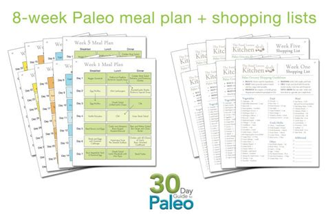 30 day guide to paleo meal plan primal palate paleo recipes