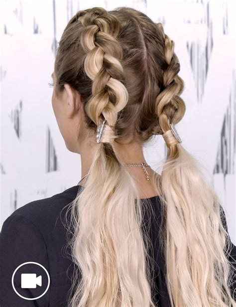 no space cornrows hairstyles double dutch braids hair style for women redken