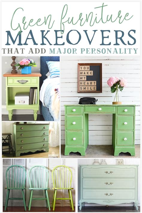 Green Furniture by Green Furniture Makeovers That Add Major Personality The