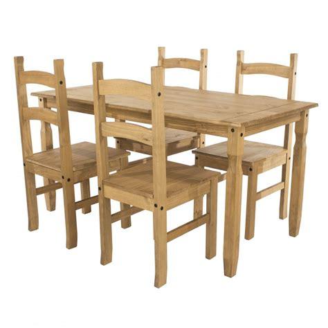 core corona large rectangular dining table  chairs