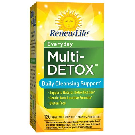Daily Detox Cleanse renew everyday multi detox daily cleansing support