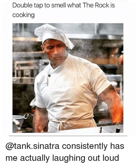cooking meme 25 best memes about what the rock is cooking what the