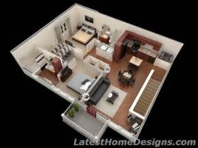Home Design Plans For 1000 Sq Ft 3d by Luxury 1000 Square Foot 2bhk 3d House Floor Plans India