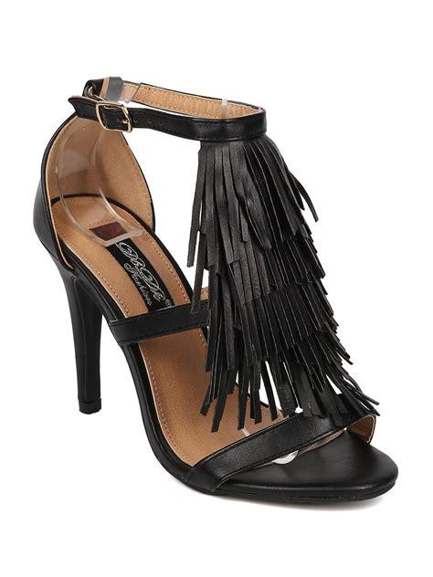 fringe boot sandals fringe sandal boots 28 images fashion gladiator fringe