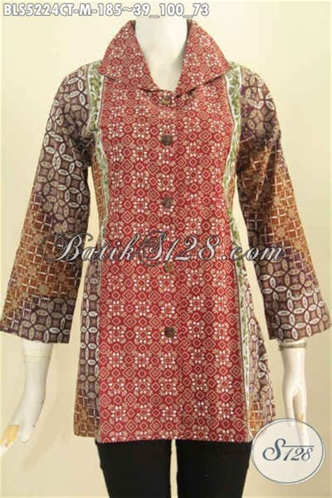 Gamis Wanita Karir pakaian batik untuk kerja wanita karir busana batik