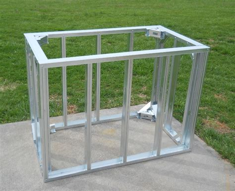 outdoor kitchen steel frame kit diy framing kits big ridge outdoor kitchens llc