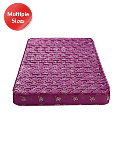 Coir Foam Mattress Price List compare kurlon firmwich coir mattress price india