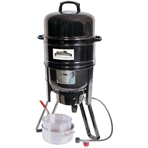 Smokers Detox 7 Reviews by Masterbuilt 7 In 1 Charcoal Propane Smoker And Grill
