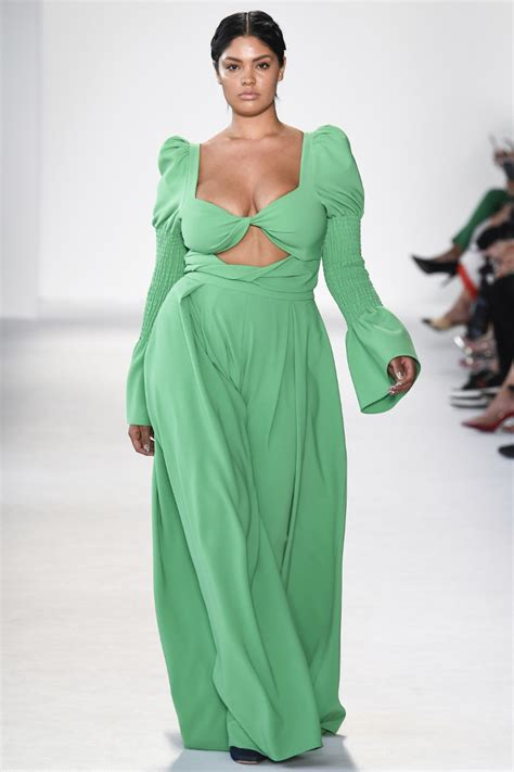 plus size runway show fashion week spring summer 2014 ivillage new york fashion week had the most plus size models ever