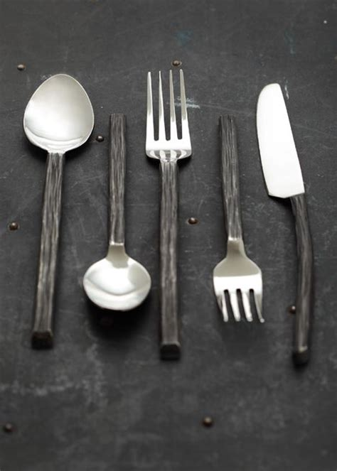 bark flatware set contemporary flatware and silverware 115 best images about flatware on pinterest flatware