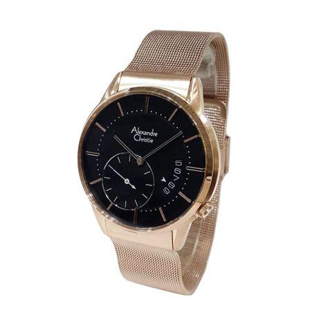 Jam Tangan Pria Alexandre Christie Gold jual alexandre christie jam tangan pria gold
