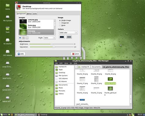themes xfce what s new in linux mint 7 gloria xfce linux mint