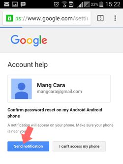 resetting gmail on android cara reset mengatasi lupa password gmail atau google play