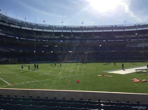 Section 136 Yankee Stadium by Yankee Stadium Football Section 136 Rateyourseats