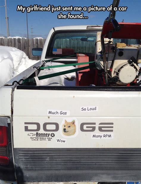 Doge Meme Car - much car so doge wow