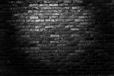 dark brick wall black brick wall wallpaper hd dark for mobile high quality