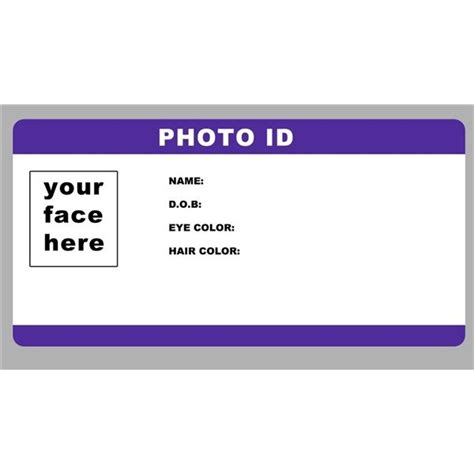 create printable id cards fake id templates peerpex