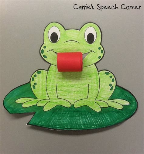 Frog Papercraft - frog crafts for ye craft ideas