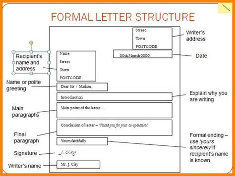 structure of formal letter pdf 8 structure of formal letter sales resumed