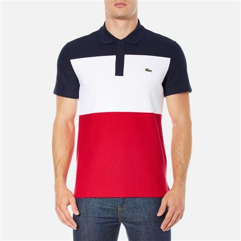 Polo Shirt 9 Inches Raglan Original Navy lacoste s sleeve bold stripe polo shirt navy