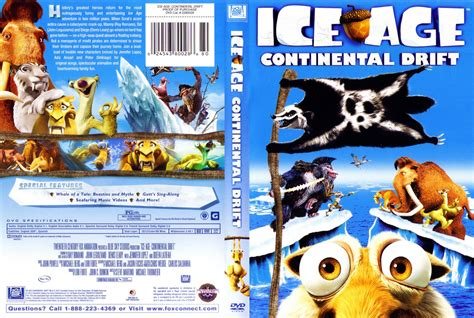ice age 4 continental drift dvd ice age 4 continental drift movie dvd scanned covers